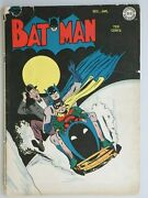 Batman 26 Dc Golden Age Key Jerry Robinson Cover Alfred Backup Story