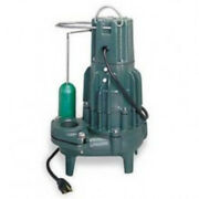 Zoeller 294-0003 Model D294s High Head Sewage Pump With Mechanical Float Switch