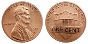 2017 S Enhanced Lincoln Penny Limited Cent Taken From Us Mint Proof Set Cp10666