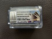 Australia 1oz. Silver Kangaroo Roll Of 20 Coins Certified 2017p Early Releases
