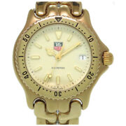 Tag Heuer Cell Series S94.713m Quartz Ss Ivory Menand039s Watch Pre Owned [u0302]