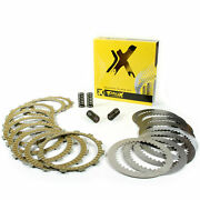 Prox Complete Steel Clutch Plate Set W/ Friction Plates And Springs 16.cps64010