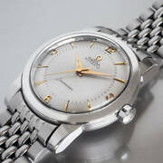 Omega Seamaster Ref.3767-2 Sc Vintage Overhaul Automatic Mens Watch Auth Works