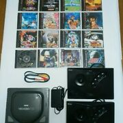 Snk Neo Geo Cdz Body Soft 16 Set From Japan Good Condition