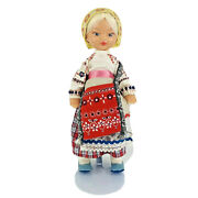 Vintage Collectible Russian Doll In Ethnic Dress 1970s Ussr Soviet Russia 14andrdquo