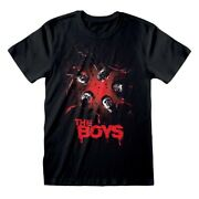 The Boys Billy Butcher Poster Official Prime Tv Series Mens Black T-shirt
