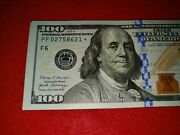 2017-a 100 Federal Reserve Star Notes Bills Fed Res Uncirculated Mint