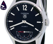 Tag Heuer Carrera Vintage Calibre 1 Limited Stainless Steel Menand039s Watch [b0303]