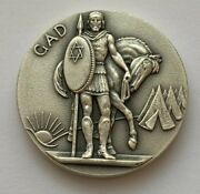 1969 The Twelve Tribes Of Israel Medallic Art Co Silver .999 Pure Gad Medal