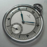 Omega Pocket Watch Ref.25335287 Vintage Manual Winding Mens Watch Auth Works