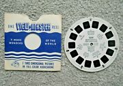 Monterrey And Pan-american Highway Mexico 1948 Viewmaster Reel 509 Rare J427