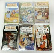 Tale Of Peter Rabbit Beatrix Potter 100 Year Collectors Edition Vhs New Lot Of 6