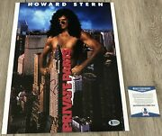 Howard Stern Signed Autograph Private Parts 11x14 Photo And Beckett Bas Coa
