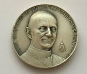 1965 Silver .999 Pure Paul Vi Mission To The United Nations New York