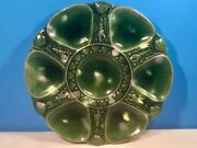 Antique English Majolica Minton Oyster Plate
