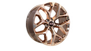24x10 6x139.7 Str701 Snowflake Candy Rose Gold Made For Chevy Avalanche
