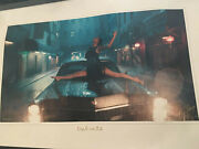 Taylor Swift Limited Edition Rare New Delicate Music Video Lithograph 1854/2000