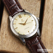 Omega Seamaster Ref.c2577-1 Vintage Cal.351 Ss Half Rotor Automatic Mens Watch