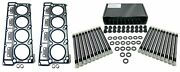 7 Layer Mls Cylinder Head Gaskets + Chromoly Studs For 06+ 6.0 Turbo Diesel 20mm