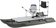 Aquos 2021 Heavy Duty For Two 11.5ft Pontoon Boat With Guardbar And Folding Seat