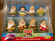 Fisher-price Little People Disney Snow White And The Seven Dwarfs New In Box