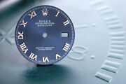 Rolex Mens Datejust New Style Bold Blue Roman Dial For 116234 Fcd12121