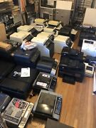About 30 Printers - Mostly For Business Or Home Office - For Repair Or Parts