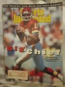 Si Sports Illustrated Back Issue September 1993 Joe Montana Kc Chiefs Big Chief