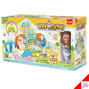 Pororo Pet School Bag Role Play Set And 2pc Figure Kids Toy-song,melody/ Korea Tv