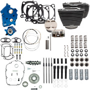 S And S Cycle Black Water Cooled 124 Power Packages For M-eight 310-1055a