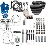 S And S Cycle Black Oil Cooled 124 Power Packages For M-eight 310-1058a