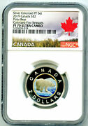 2019 2 Canada Silver Proof Toonie Ngc Pf70 Gilt Colored Two Dollar Key Coin