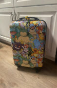 Pokemon Evolved Box Lunch Exclusive 21 Inch Spinner Luggage Nintendo