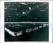 1970 Dw Pinegar Capitol Lights Spectacular Federal Buildings Property Photo 8x10