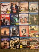 Lot Of Used Blu Ray Movies Pick Your Movies Flat 5 Shipping