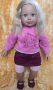 Zarp Large German Doll With Clothes