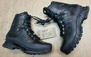 Meindl German Army Sf Issue Black Leather Goretex Combat Boots Size 7.5 Uk 326