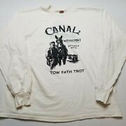 Vtg 2002 Canal Festival T-shirt Mens Xl Walnutport Pa Horse Path Trot 00s Anddivide92