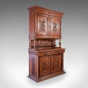 French Antique Show Cabinet Victorian Cupboard Circa 1890