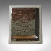 Large Antique Wall Mirror, English, Victorian, Painted, Pitch Pine, Circa 1900