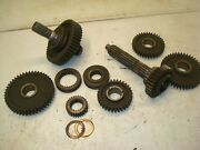 1971 Ford 3400 Tractor 8 Speed Transmission Gears