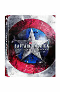 Captain America The First Avenger Blu-ray Steelbook 2d+3d Limited Edition - A1