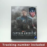 Captain America The First Avenger Blu-ray Steelbook 2d+3d Limited Edition - B