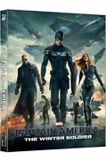 Captain America The Winter Soldier Blu-ray Steelbook 2d+3d Limited Edition - B