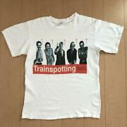 Trainspotting T-shirt Menand039s 90and039s Vintage Size L Made In Usa Color White Used