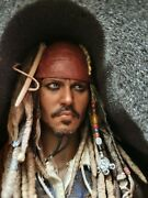 Hot Toys 16th Scale Pirates Of The Caribbean Figure Dx06 Captain Jack Sparrow