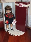 Retired And Rare American Girl Doll Molly, White Body, West Germany 1986 Tag, Euc