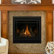 34 Gas Fireplace Log Set, 5 Piece Log Set Only, New In Sealed Package