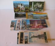 Vintage Rare Post Cards 100 - Old As 1915 - World Wide - Excellent -free Shpg