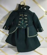 American Girl Felicityand039s Riding Outfit Wool Waistcoat + Skirt